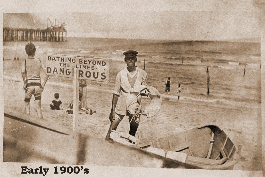 Beach- Early 1900s