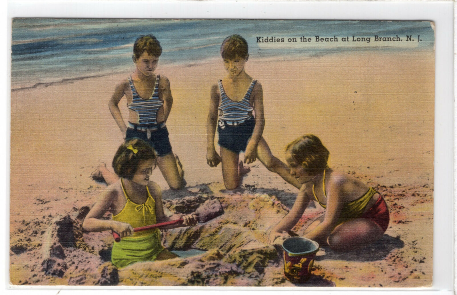 Kiddies On The Beach- 1942