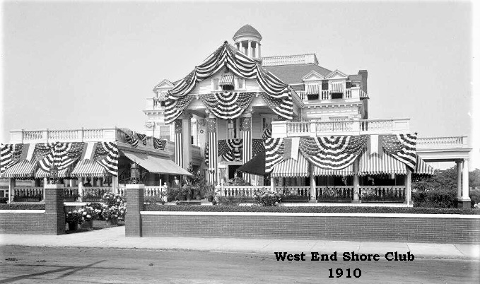 West End Shore Club 1910 c