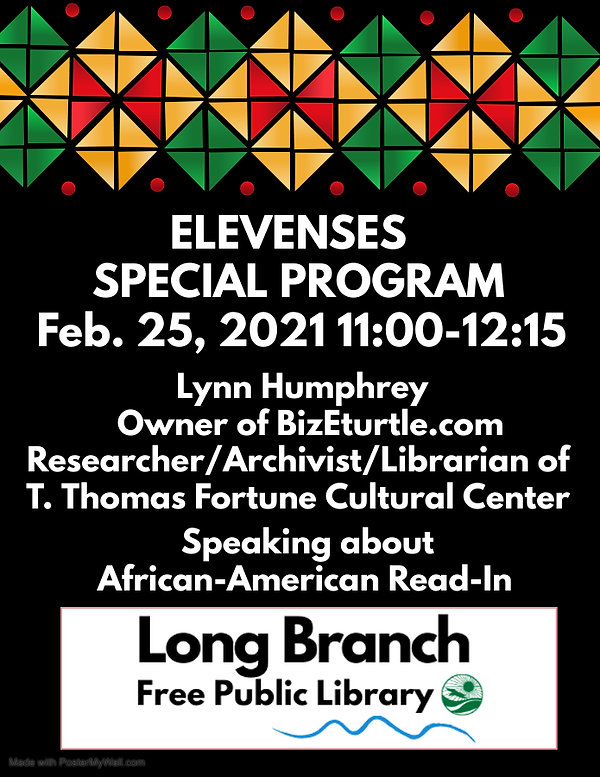 Elevenses Special Black History Month Pr