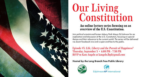 Our Living Constitution - Episode #3 (1)