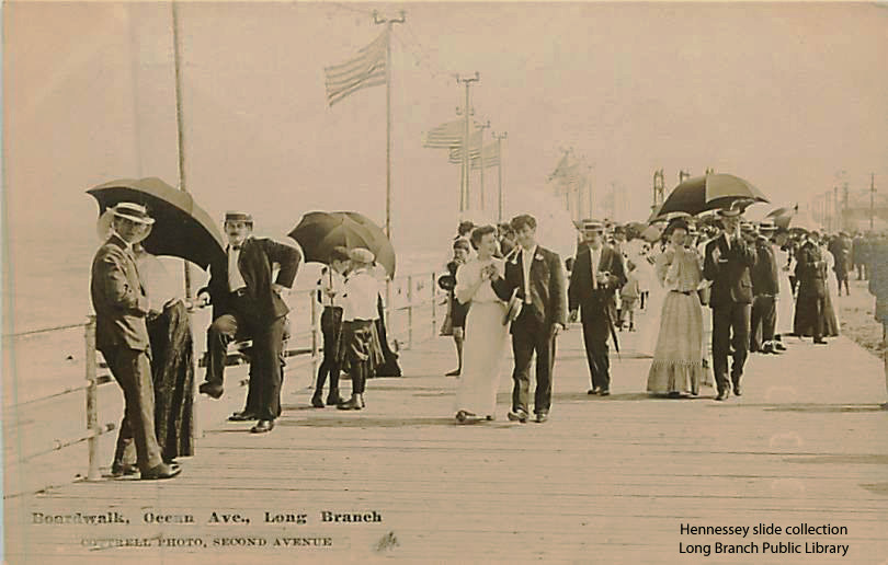 Boardwalk, Ocean Ave., Long Branch