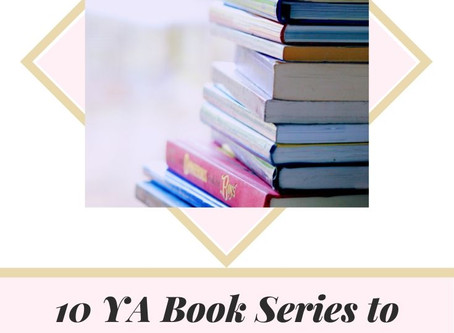 10 YA book series to start binge reading