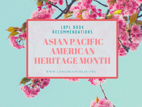 Book Recommendations for Asian Pacific American Heritage Month