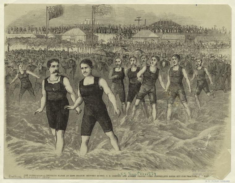 1874 Sept 12  International Swimming Mat