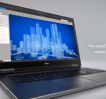"Dell Precision 17"" Mobile Workstation Laptop"