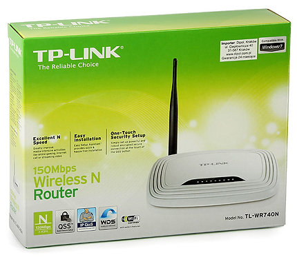 Router Inalámbrico N a150Mbps (TL-WR740N)
