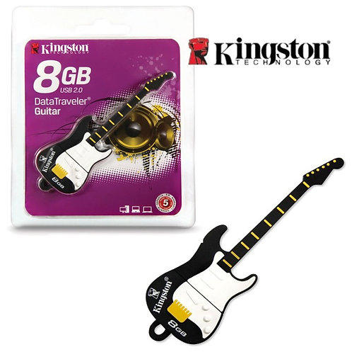 8GB Custom ID Rubber Novelty USB Guitar - KE-U558G