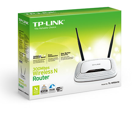 Router inalámbrico N a 300Mbps (TL-WR841ND)
