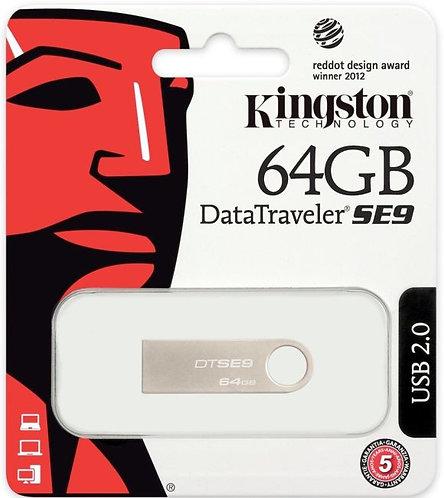 64GB DataTraveler SE9 - DTSE9H/64GB