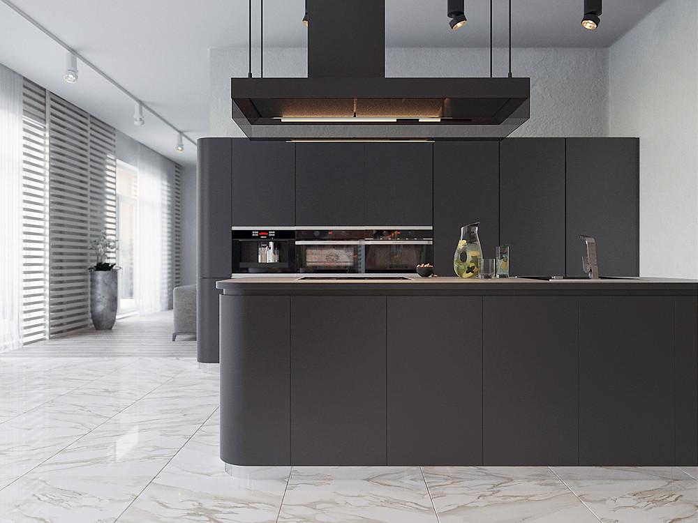 крутые кухни дизайн интерьера спб