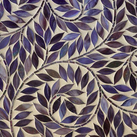 мозаика фиолетовая