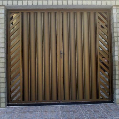 Portão Boleado