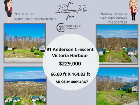 Just Listed - 91 Anderson Crescent, Victoria Harbour