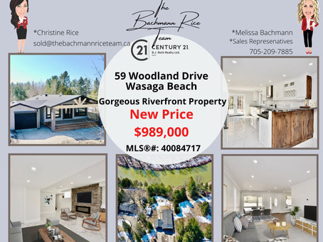 59 Woodland Drive, Wasaga Beach - New Price