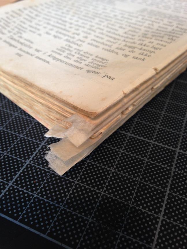 Åpent verksted - Kurs i enkel reparasjon av bøker