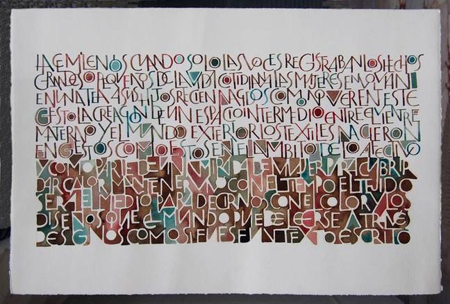 Kalligrafi-workshop med Marina Soria