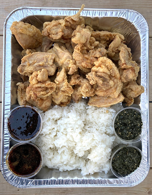 Family Style - Garlic Furikake Chicken Pack for Four