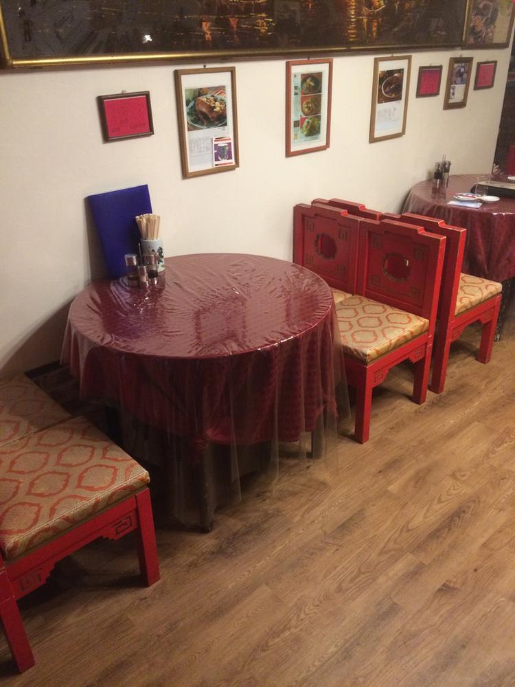 広東料理屋さんの椅子のお直し