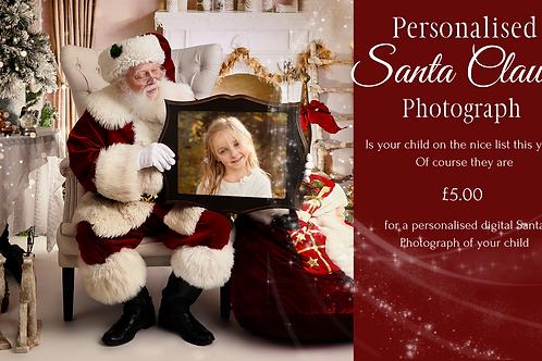 Personalised Santa Claus Photograph