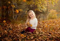 autumn childrens photoshoot