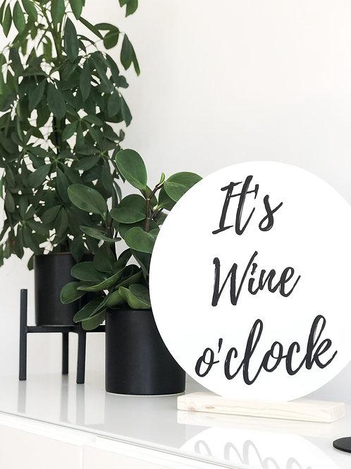 Wooncirkel: It's wine o'clock