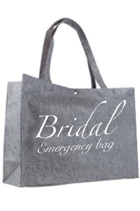 Tas Large: Bridal emergency bag