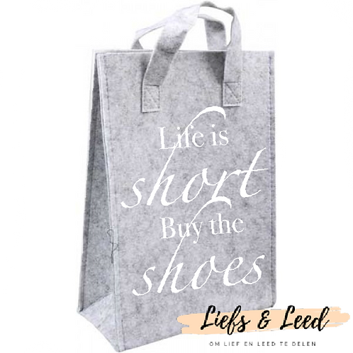 Tas: Life is short...