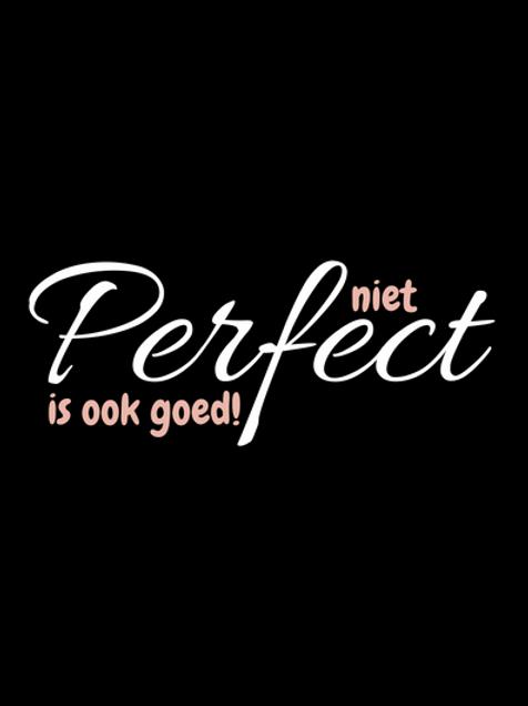 Kaart: Niet perfect is ook goed