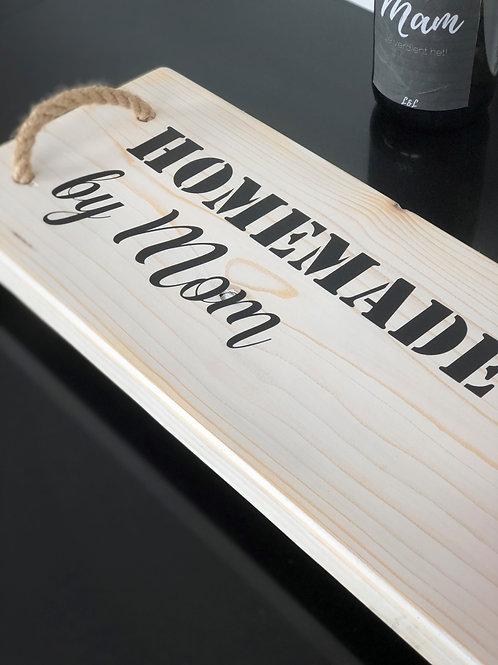 Borrelplank: Homemade by Mom