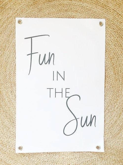 Tuinposter: Fun in the sun