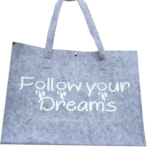 Tas Large: Follow your dreams