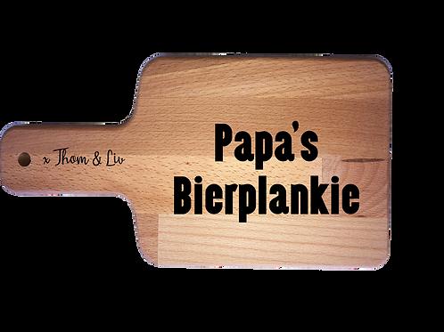 Kaasplank: Papa's bierplankie