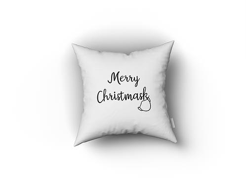 Kussenhoesje: Merry Christmask