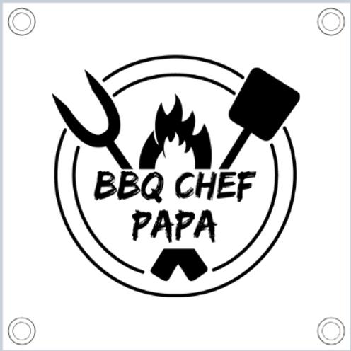 Tuinposter: BBQ Chef Papa