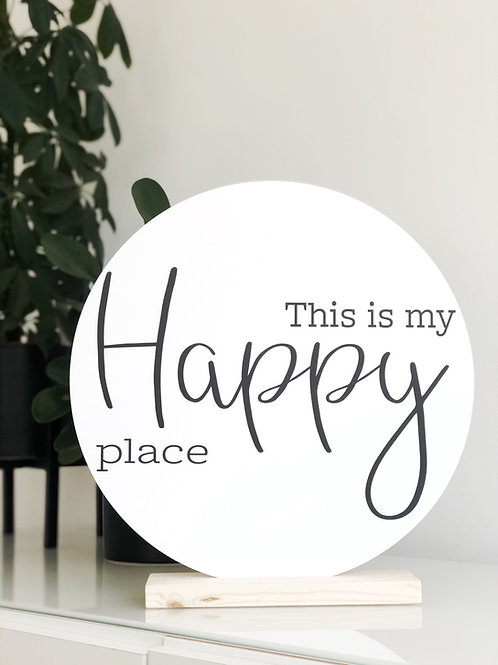 Wooncirkel: This is my happy place