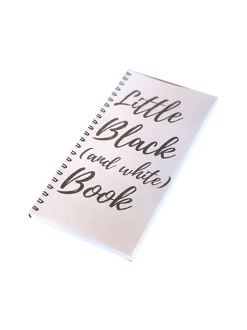 Little Black (and white) book