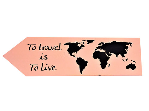 Wegwijzer: To travel is to live