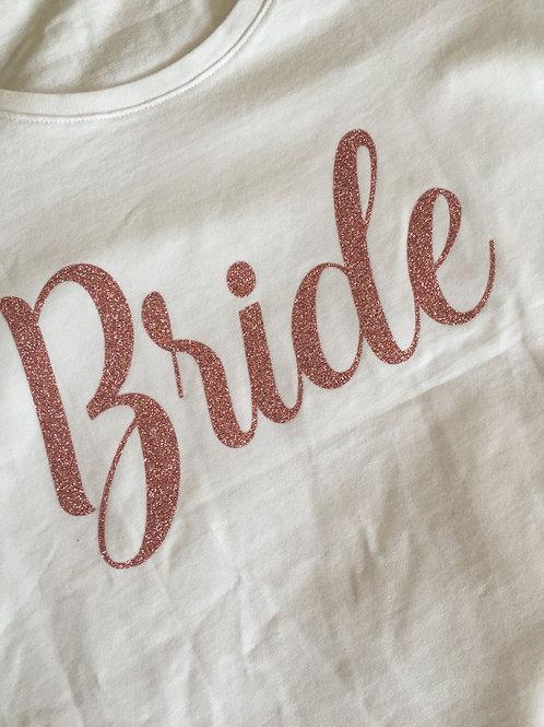 Strijkembleem: Bride