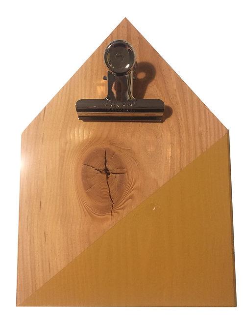 Klembord Mosterdgeel