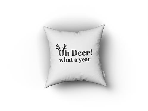 Kussenhoesje: O deer what a year
