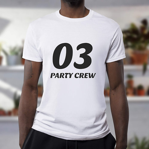 T-shirt Party Crew 03