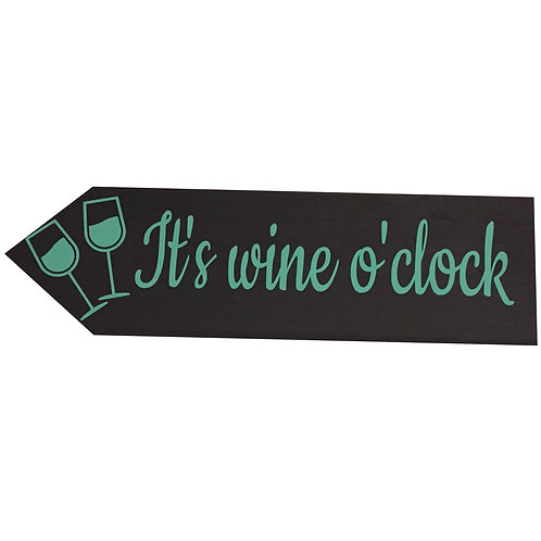 Wegwijzer: It's wine o'clock