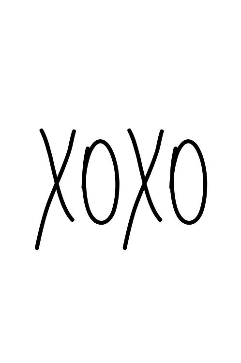 Kaart: XOXO