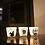 Thumbnail: Set van 3 waxinelichtjeshouders
