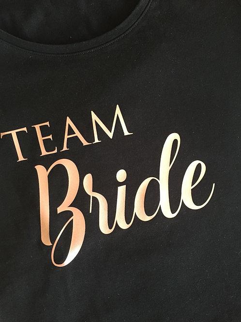 Strijkembleem: Team Bride