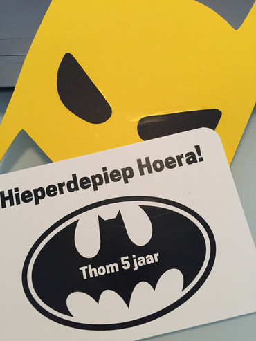Uitnodiging superheld