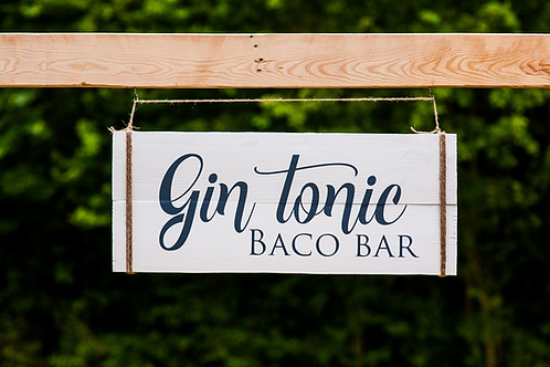 Bord: Gin tonic Bar