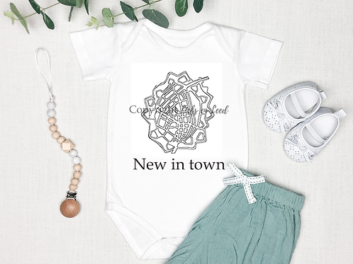 Romper Brielle: New in town