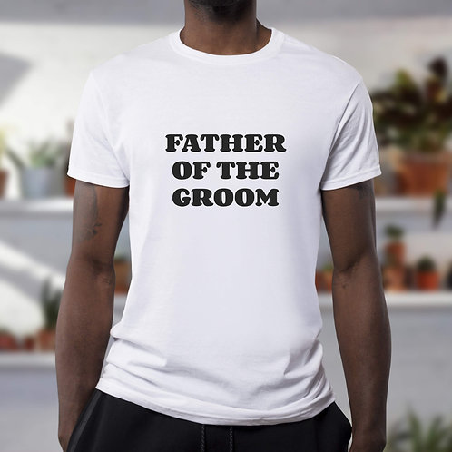 T-shirt Father of the groom
